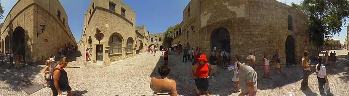 Museum square, ''Ippoton'' street, Rhodes Old Town Photo Image of Rhodes - Rodos - Rhodos island, Greece