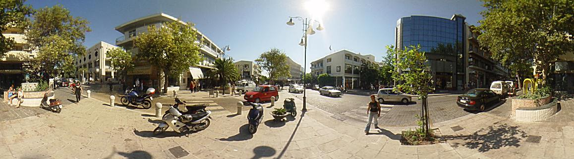 ''Kyprou'' square, the center of Rhodes down town., Rhodes Town Photo Image of Rhodes - Rodos - Rhodos island, Greece