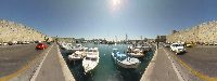 Image of ''Kolona'', the fishing boats dock.Rhodes Rhodos Rodos Photo