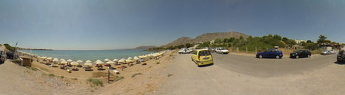 Pefki beach, Pefki Photo Image of Rhodes - Rodos - Rhodos island, Greece
