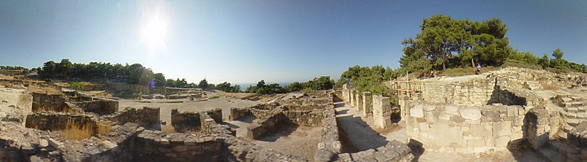 Ancient Kamiros, houses, Ancient Kamiros Photo Image of Rhodes - Rodos - Rhodos island, Greece